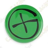 Badge Geocaching - Vert