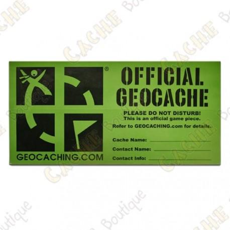 Patch Geocaching Groundspeak camuflagem