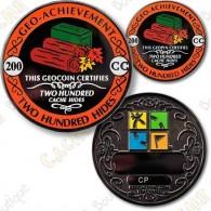 Geo Achievement® 200 Hides - Coin + Pin's