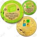 Geo Achievement® 1000 Finds - Coin + Pin