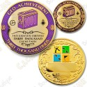 Geo Achievement® 3000 Finds - Coin + Pin