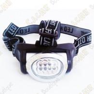 Lanterna de cabeça 8 LED