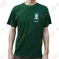 "Trackable ""Travel Bug"" T-shirt for Men - Green"
