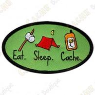 Patch geocaching Eat - Sleep - Cache