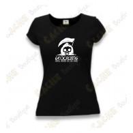 "T-Shirt ""Until Death Do Us Part"" Mulheres - Negro"