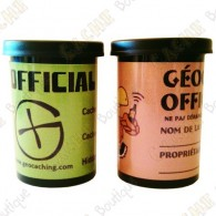 "Cache ""film canister"" - Negro"