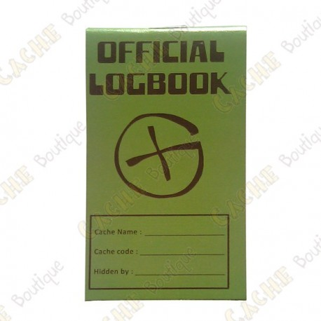 """Pequeno logbook """"Official Logbook"""""""