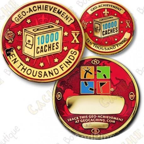 Geo Achievement® 9000 Finds - Coin + Pin