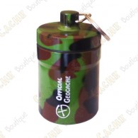 "Grosse micro cache ""Official Geocache"" 8 cm - Camouflage"