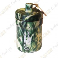 "Grosse micro cache ""Official Geocache"" 8 cm - Herbes"