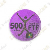 Geo Achievement Badge - 500 FTF