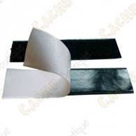 Velcro adhésif 10 cm - Noir