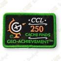Geo Achievement® 250 Finds - Patch