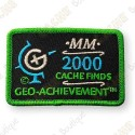 Geo Achievement® 2000 Finds - Patch