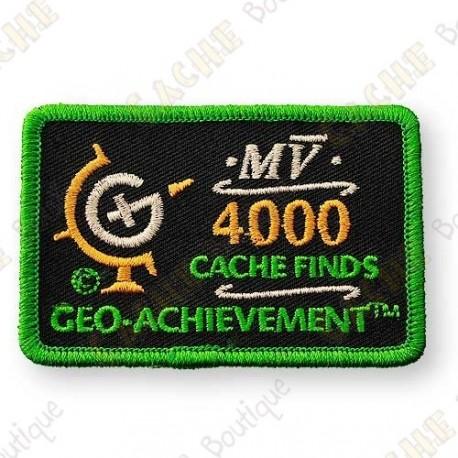 Geo Achievement® 4000 Finds - Patch