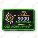 Geo Achievement® 9000 Finds - Patch