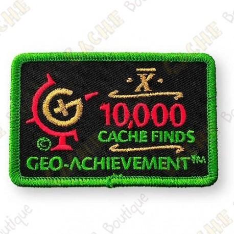 Geo Achievement® 10 000 Finds - Patch