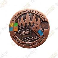 "Géocoin ""Proving Trail"""