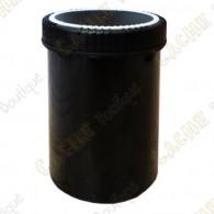 Baril noir étanche - 1000 ml