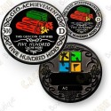 Geo Achievement® 500 Hides - Coin + Pin