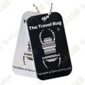 Travel bug QR - Preto