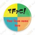 Crachá Team Name x 50 - Personalizado