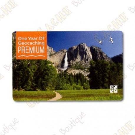 Geocaching.com PREMIUM membership gift card - 1 ano