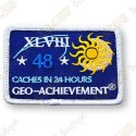 Geo Achievement® 24 Hours 48 Caches - Patch