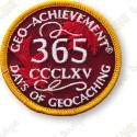 Geo Achievement® 365 Days - Patch