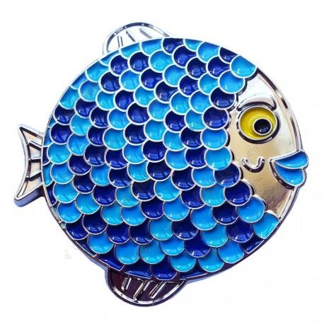 "Geocoin ""Rainbow Fish"" - Boyly Silver LE"