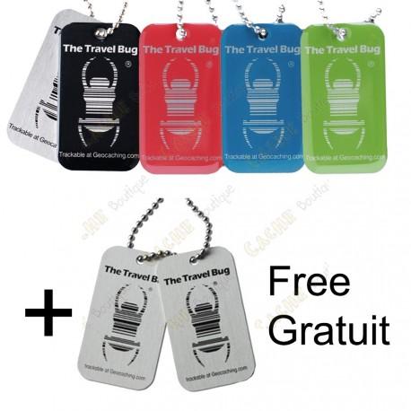 Travel bug QR - Color pack