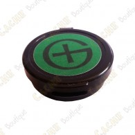 "Micro container ""Pastille"" magnétique - 4 cm plate"