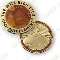 Geo Achievement® Mile High Club - Coin