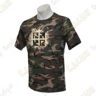 "T-Shirt ""Cache Attack"" - Camouflage"