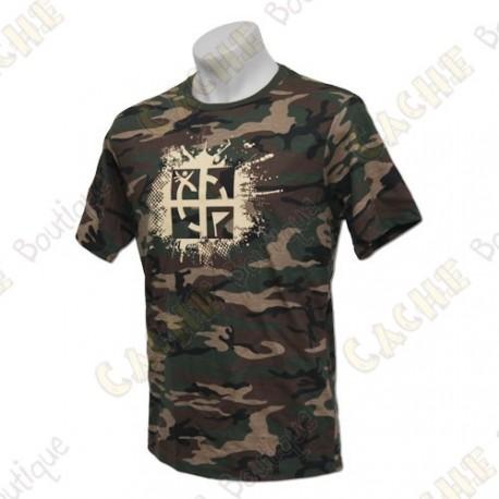 "T-Shirt ""Cache Attack"" - Camuflagem"