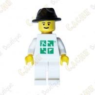 Ce gé ocoin LEGO™ est trackable sur www.geocaching.com .
