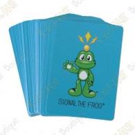 Divertissez-vous avec ce jeu de cartes Signal the Frog !
