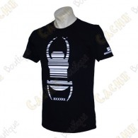 "T-Shirt ""Travel Bug"" Trackable - Noir"