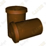 Film canister x 10 -  Marron