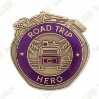 "Géocoin ""Road trip Hero"""