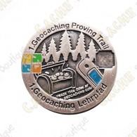 "Géocoin ""Proving Trail"" - Silver"