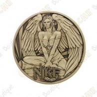 """Géocoin """"Dieux grecs"""" 3 - Nike"""
