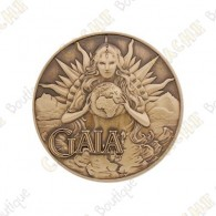 "Géocoin ""Dieux grecs"" 4 - Gaia"