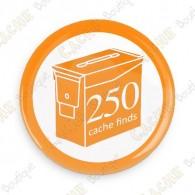 Geo Score Badge - 250 Finds