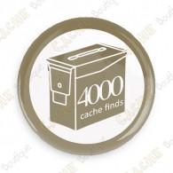 Geo Score Crachá - 4000 finds