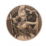 "Geocoin ""Greek Gods"" 7 - Athena"
