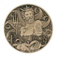 """Géocoin """"Dieux grecs"""" 11 - Poseidon"""