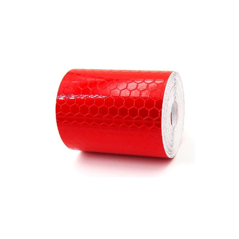ruban adh sif r fl chissant rouge cache boutique. Black Bedroom Furniture Sets. Home Design Ideas