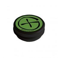 "Cache ""Geo-Tin"" Noire - Ronde 4 cm"
