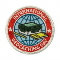 "Patch ""International Geocaching Day"" 2016"